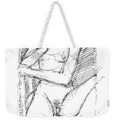 Nude Female Sketches 4 Weekender Tote Bag