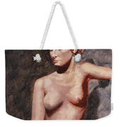 Nude French Woman Weekender Tote Bag