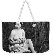 Nude In Field, C1850 Weekender Tote Bag