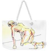 Nude Male Drawings 3w Weekender Tote Bag