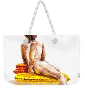 Nude Male Model Study Vi Weekender Tote Bag