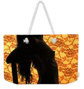 Nude On Chair Color Weekender Tote Bag