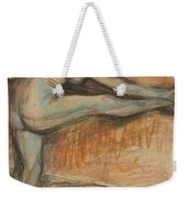 Nude Study For A Dancer At The Bar Weekender Tote Bag