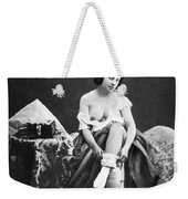 Nude Undressing, C1850 Weekender Tote Bag