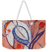 Nude With A White Hat Weekender Tote Bag
