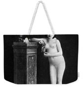 Nude With Grapes, C1850 Weekender Tote Bag