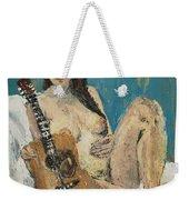 Nude With Guitar Weekender Tote Bag