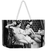 Nudes Having Tea, C1850 Weekender Tote Bag