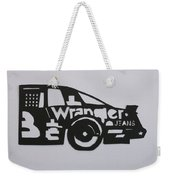 Number 3 Car Wrangler Weekender Tote Bag