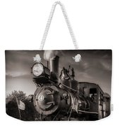 Number 4 Narrow Gauge Railroad Weekender Tote Bag