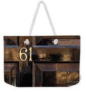 Number 61 Weekender Tote Bag