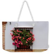 Number 9 - Geraniums In The Window Weekender Tote Bag