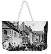 Nuremberg Street Scene Weekender Tote Bag