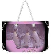 Nursery And Childrens Series Penguins Weekender Tote Bag