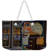Nutcracker Statue In Downtown Grants Pass Weekender Tote Bag