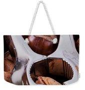 Nutcracker With Nuts Closeup Weekender Tote Bag