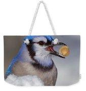Nuts To This Winter Weekender Tote Bag