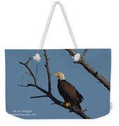 Nw Florida Bald Eagle Iv Weekender Tote Bag