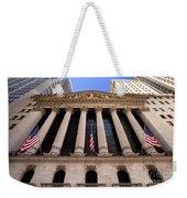 Ny Stock Exchange Weekender Tote Bag
