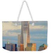 Ny Sundown One World Trade  Weekender Tote Bag