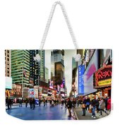 Ny Times Square Impressions I Weekender Tote Bag