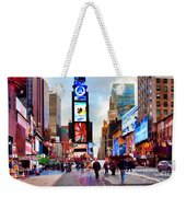 Ny Times Square Impressions IIi Weekender Tote Bag