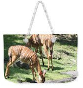 Nyalas At The Watering Hole Weekender Tote Bag