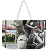 Nyc - Manhattan - Rockefeller Center - First Human Maiden Made F Weekender Tote Bag