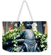 Nyc Angel Weekender Tote Bag