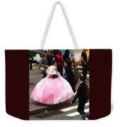 Nyc Ball Gown Walk Weekender Tote Bag