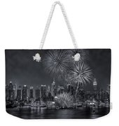 Nyc Celebrate Fleet Week Bw Weekender Tote Bag