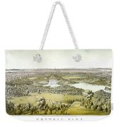 Nyc Central Park, C1859 Weekender Tote Bag