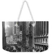 Nyc Financial District Weekender Tote Bag