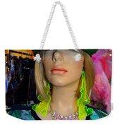 Nyc Girl Weekender Tote Bag
