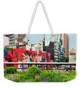 Nyc-high Line Billboard Art Weekender Tote Bag