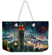 Nyc In Fourth Of July Independence Day Weekender Tote Bag