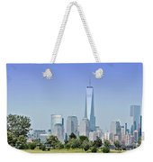 Nyc Skyline From The Park - Image 1666-01 Weekender Tote Bag