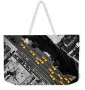 Nyc Taxi Weekender Tote Bag