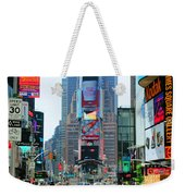 New York City Times Square Weekender Tote Bag
