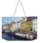 Nyhavn Boat Docks Weekender Tote Bag