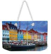 Nyhavn Canal Weekender Tote Bag