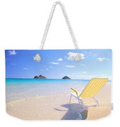 Oahu Lanikai Beach Weekender Tote Bag