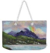 Oahu North Shore Rainbow Weekender Tote Bag