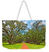 Oak Alley 3 Oil Weekender Tote Bag