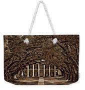 Oak Alley Bw Weekender Tote Bag by Steve Harrington
