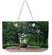 Oak Alley Courtyard Weekender Tote Bag