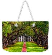 Oak Alley Paint Version Weekender Tote Bag by Steve Harrington