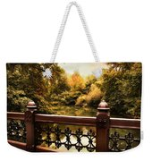 Oak Bridge Autumn Weekender Tote Bag