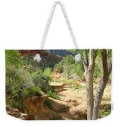Over Slide Rock Weekender Tote Bag