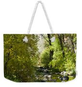 Oak Creek Canyon Creek Arizona Weekender Tote Bag